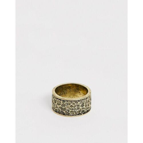 Classics 77 – Gravierter Ring in Gold S/M