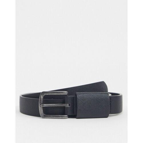 Farah – 30 mm breiter, schwarzer Gürtel XS / S