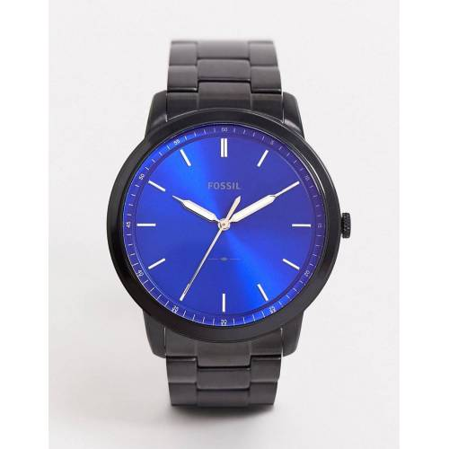 Fossil – Minimalistische Armbanduhr in Schwarz, FS5693 No Size