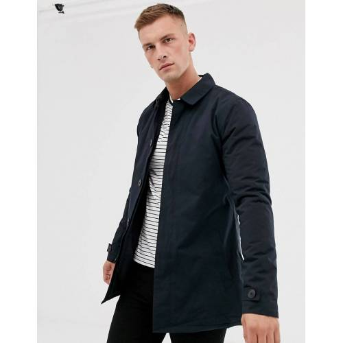 French Connection – Gefütterter Trenchcoat-Navy XL