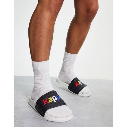 Kappa – Slider in Regenbogenfarben-Weiß 47