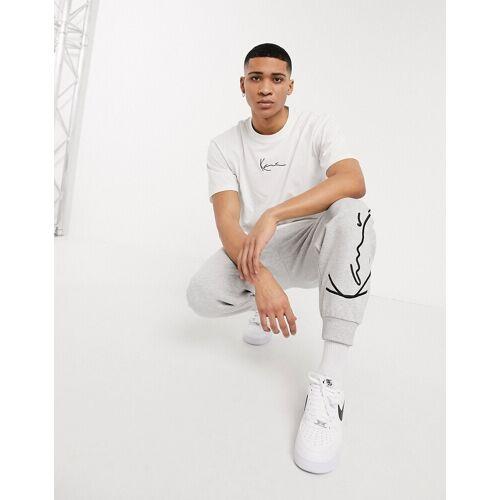 Karl Kani– Signature – Weißes T-Shirt M