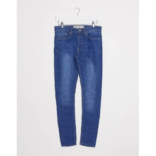 New Look – Superenge Jeans in Blau W32 L32