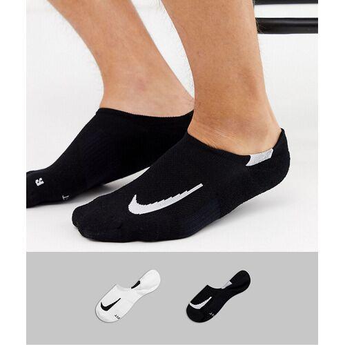 Nike Running – Unsichtbare Socken im 2er-Pack-Weiß 38.5-41