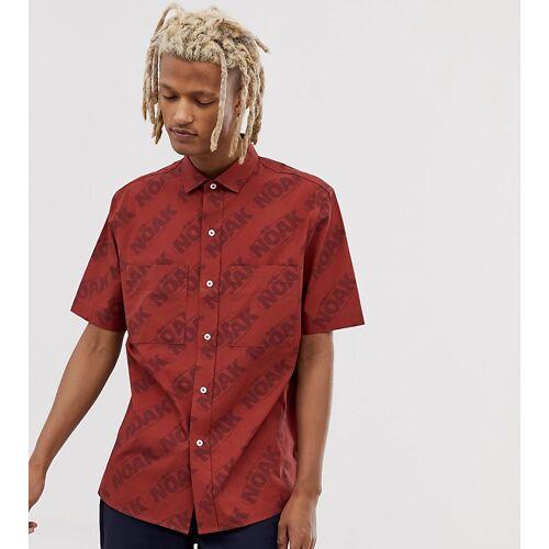 Noak – Hemd mit aufgesetzten Taschen-Rot S