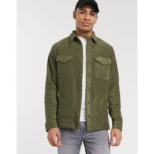 Polo Ralph Lauren – Grüne Jacke aus Polarfleece S
