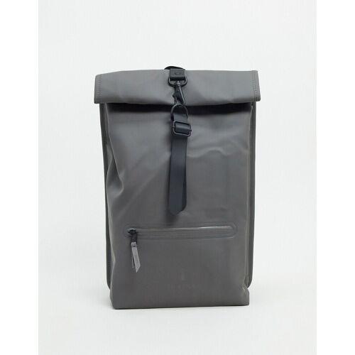 Rains – 1316 – Wasserfester Rucksack mit Umschlag in Grau No Size