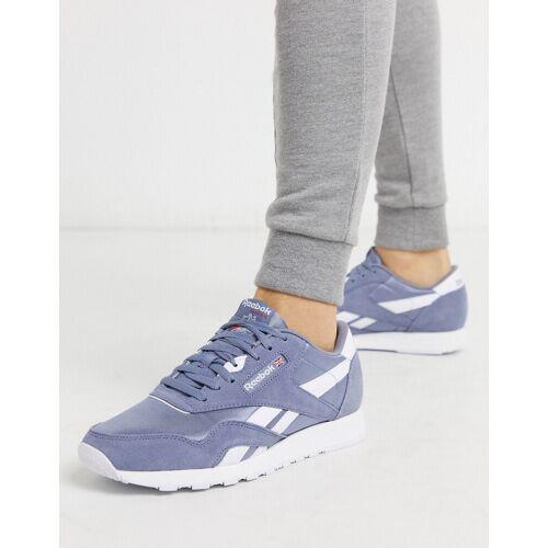 Reebok Reebock Classics – Violette Nylon-Sneaker-Weiß 38.5