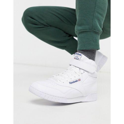 Reebok – EX-O-FIT – Knöchelhohe Sneaker in Weiß 38
