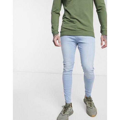 SikSilk – Hellblaue, enge Jeans XL