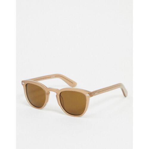 Spitfire – Cut Nine – Runde Sonnenbrille in Hellbraun No Size