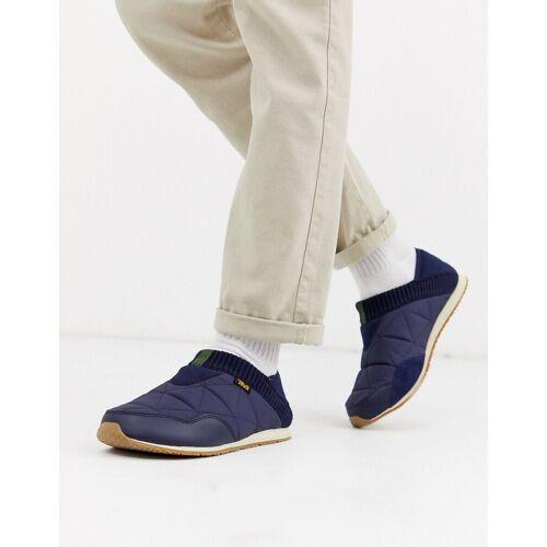 TEVA – Ember Moc – Blaue Slipper 44.5
