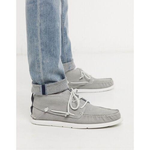 UGG – Chukka-Stiefel aus grauem Leder 44