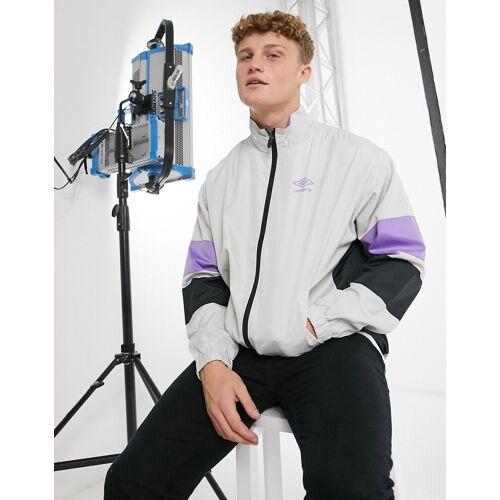 Umbro – Scuba – Trainingsjacke in Grau XXL