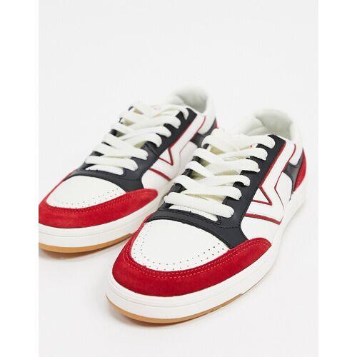 Vans – Lowland – Sportliche Sneaker-Weiß 40.5