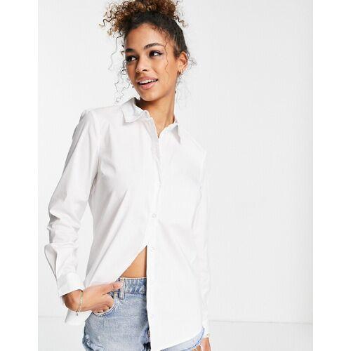 JDY – Lässiges Hemd in Weiß 36