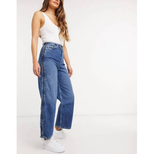 Pepe Jeans – Mara – Jeans mit Reißverschluss-Blau XS
