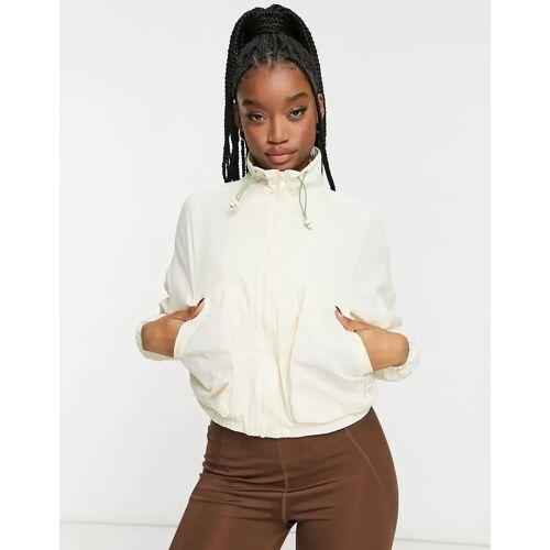 PUMA – Infuse – Cremefarbene Jacke-Weiß XS
