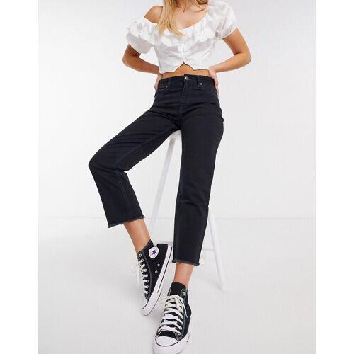 Quiksilver – Up Size Colour – Schwarze Jeans L