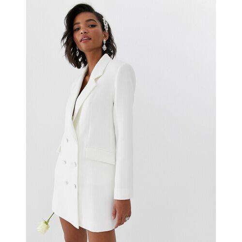 ASOS EDITION – Blazer-Hochzeitskleid-Weiß 36