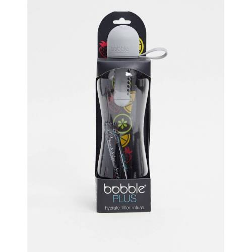 Bobble – Plus – Graue Wasserflasche, 590 ml No Size