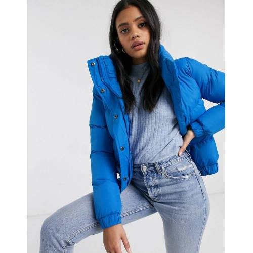 Brave Soul – Slay – Wattierter Mantel-Blau 40