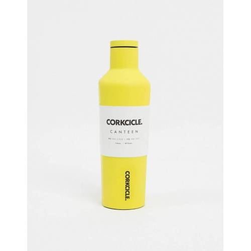 Corkcicle – Neon Lights – Matte Wasserflasche in Neongelb, 475 ml No Size