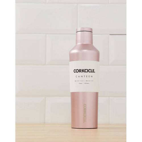 Corkcicle – Trinkflasche in Roségold, 475 ml No Size