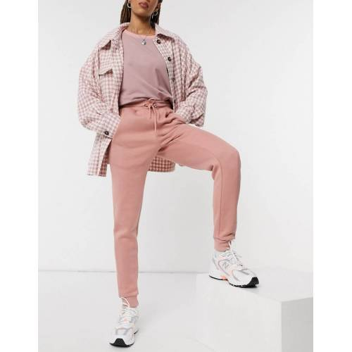 In The Style Plus x Gemma Collins – Jogginghose mit Motiv in Rosa 40