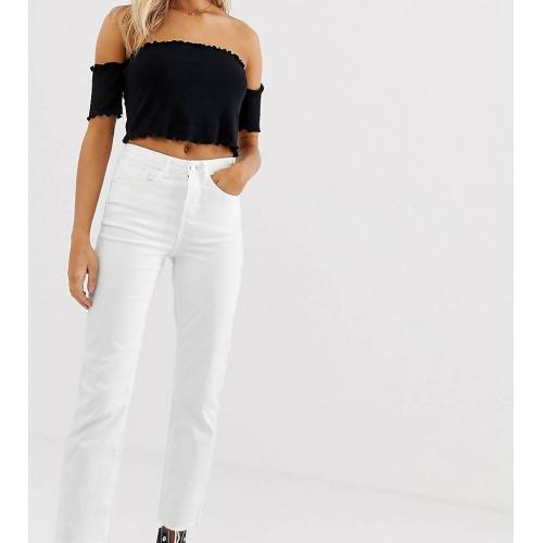 JDY – Klassische Mom-Jeans-Weiß W30 L32