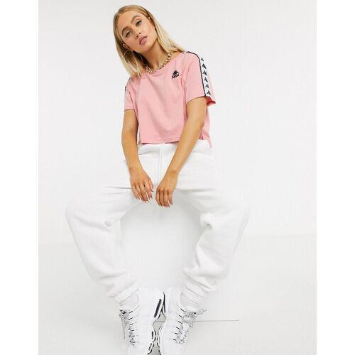 Kappa – T-Shirt in Rosa XL