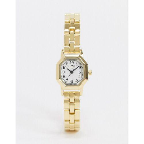 Limit – Achteckige Armbanduhr in Gold No Size