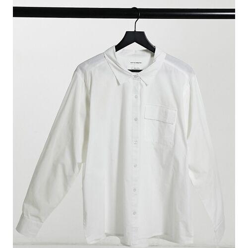Native Youth Plus – Perfektes, weißes Hemd 46