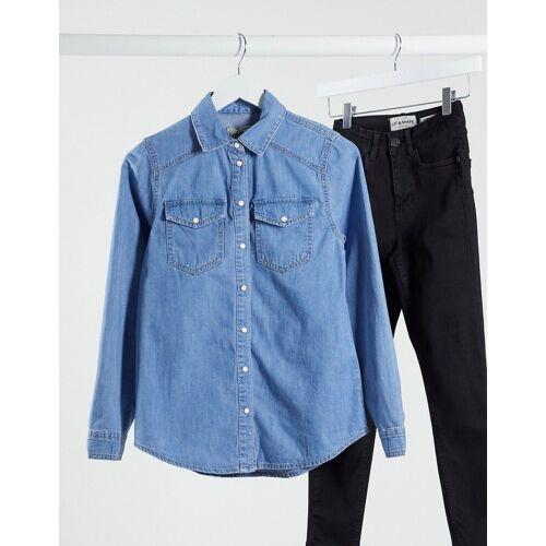 New Look – Blaues Jeanshemd 34