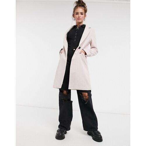 New Look – Eleganter Mantel in Rosa 46