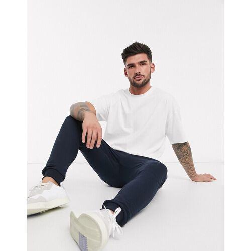 New Look – Weißes, übergroßes T-Shirt XL