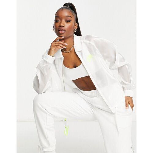 Nike – Air – Jacke in Weiß M