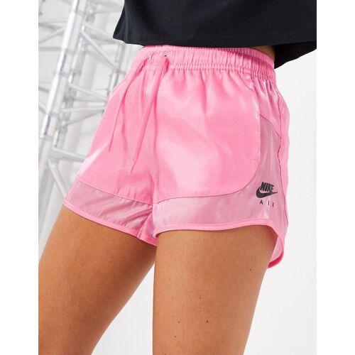 Nike Air – Transparente Shorts in Rosa L