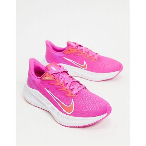 Nike Running – Zoom Winflo – Sneaker in Hellrosa 41