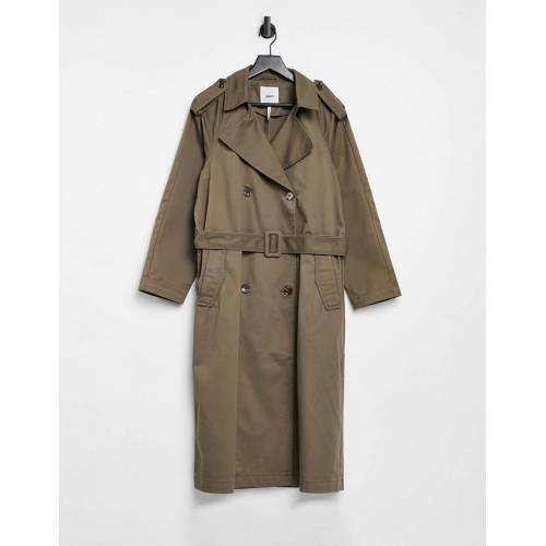 Object – Oversize-Trenchcoat in Braun 36
