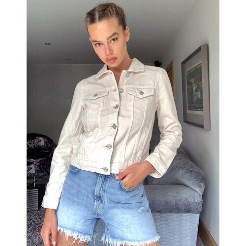 Pimkie – Weiße Jeansjacke L