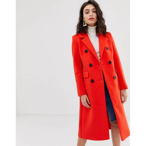River Island – Roter Mantel 38