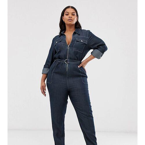 Simply Be – Jeansblaumann in Blau 54