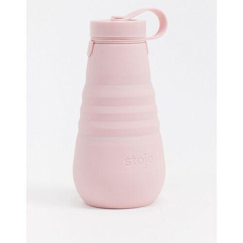 Stojo – Faltbare Trinkflasche in Blassrosa, 550 ml-Keine Farbe No Size