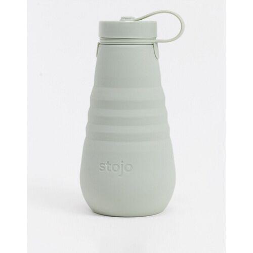 Stojo – Faltbare Trinkflasche in Salbeigrün, 550 ml-Keine Farbe No Size