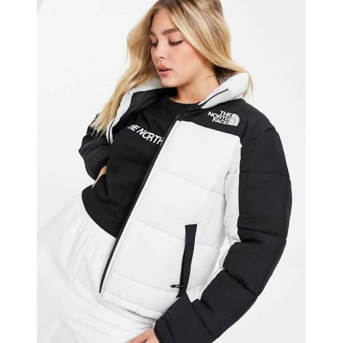 The North Face – Himalayan – Isolierte Jacke in Weiß-Grau XL