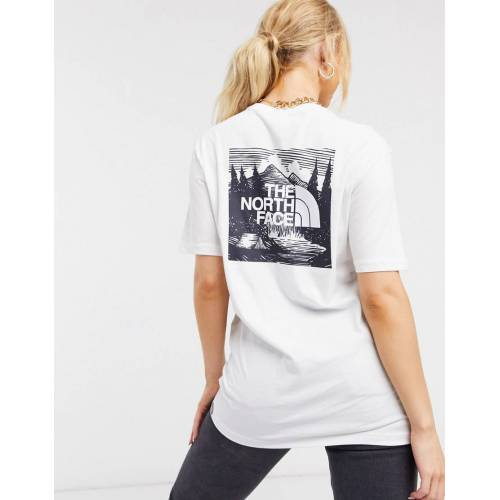 The North Face – Red Box Celebration – Weißes T-Shirt S