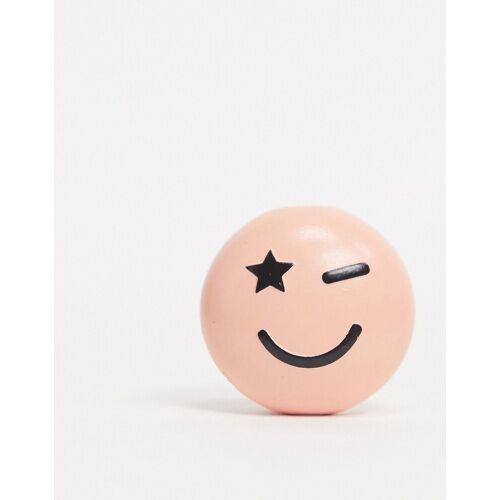 Typo – Kabelabdeckung mit Smiley-Design-Mehrfarbig No Size
