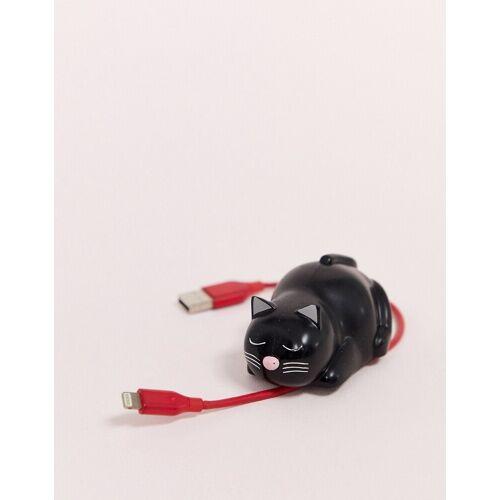 Typo – Kabelhalterung mit Katzendesign-Mehrfarbig No Size