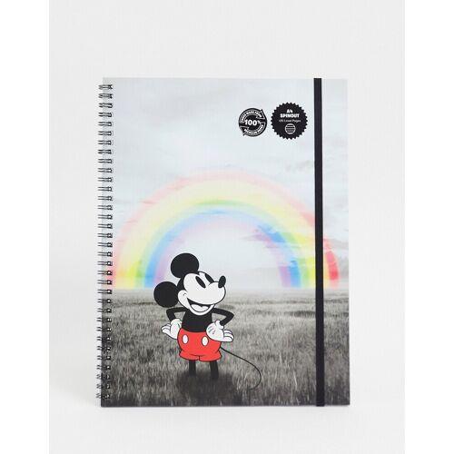 Typo x Disney – A4-Notizbuch mit Micky Maus-Print-Mehrfarbig No Size